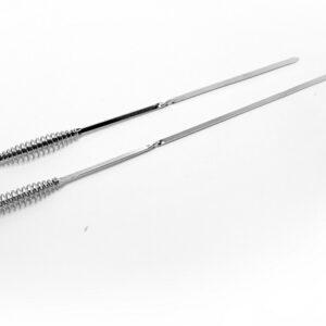 stainless steel twisted skewer