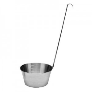 stainless steel coffee dipper