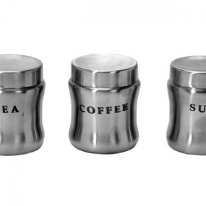 Stainless Steel Belly Canisters