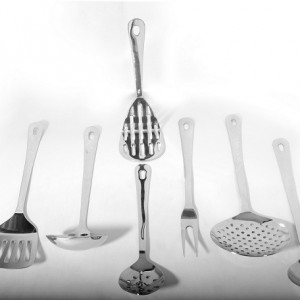 Stainless Steel Sober Kitchen Tool Set