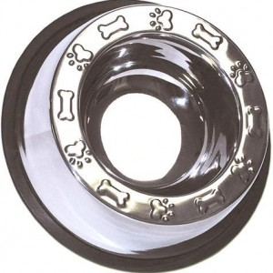 Top Rim Embossed Anti Skid Bowl