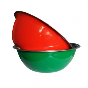 Stainless Steel Colored Mixing Bowls