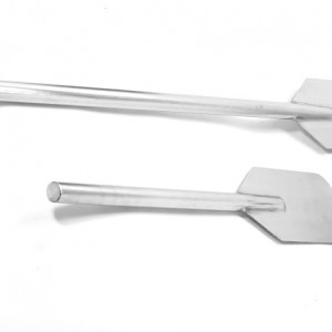 stainless steel mixing paddles