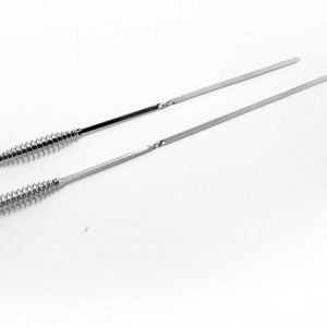 stainless steel twisted skewer