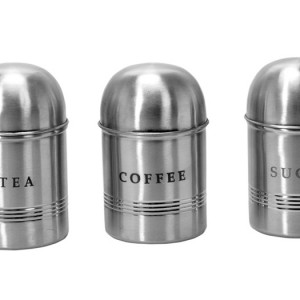 Stainless Steel Dome Lid Canisters
