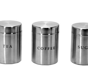 Stainless Steel Sober Canisters