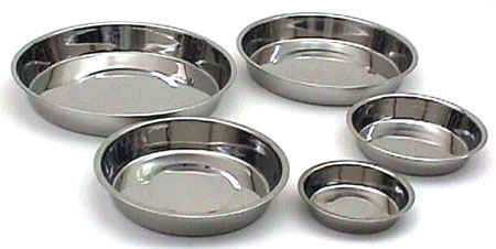 stainless steel puppy dish
