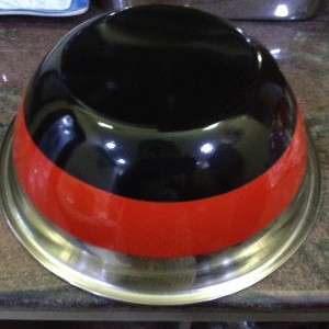 stainless steel color mixing bowls